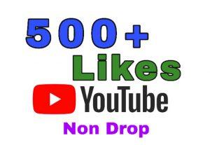 Get 500+ Likes on YouTube Post . Lifetime Guaranteed!