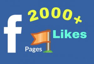 I will add 2000+ Facebook Fan Page Likes. HQ