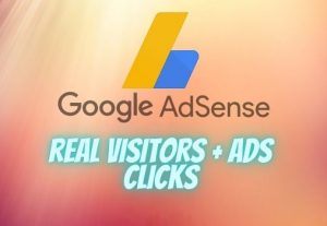 Adsense Ads clicks + website's visits 100% real and safe