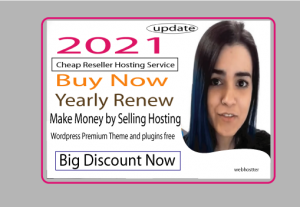 2021 new server – Reseller web hosting to start making money by selling web hosting service