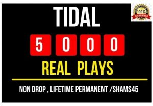 Add 1000+ Real Tidal Plays Instant , Non drop and Lifetime Permanent