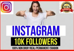Get Instant 10,000+ Instagram Real Followers, All are 100% Guaranteed real followers