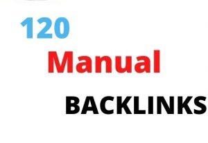 I will create manual high quality seo backlinks