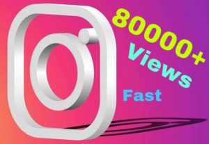 I will get you 80000+ Views on Instagram video post . Fast & Non Drop.
