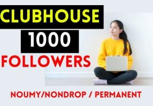 GET 1000+ CLUBHOUSE FOLLOWERS, NON DROP AND PERMANENT