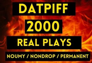 GET 2000+ DATPIFF PLAYS, NON DROP AND PERMANENT