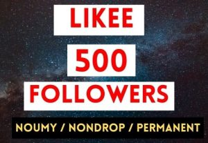 GET INSTANT 500+ LIKEE FOLLOWERS NON DROP