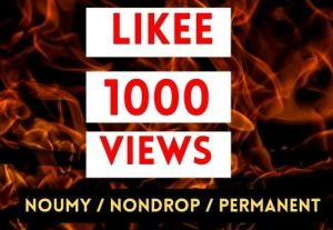 GET INSTANT 1000+ LIKEE VIEWS NON DROP