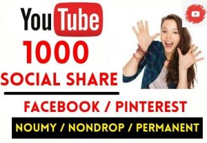 GET INSTANT 1000+ YOUTUBE VIDEO SOCIAL SHARE