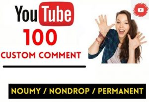 GET 100+ YOUTUBE VIDEO CUSTOM COMMENT INSTANT