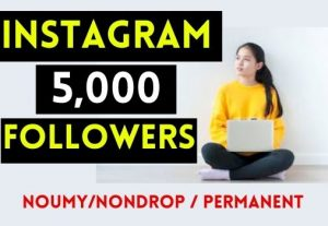 GET 5000+ INSTAGRAM FOLLOWERS , REAL AND NON DROP
