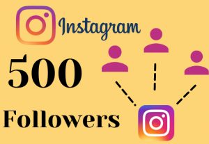 Get 500 instagram followers – Non-drop – Fast delivery