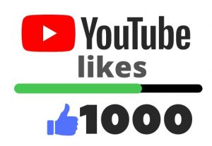 Get 1000 YOUTUBE likes – Non-drop – Fast delivery- HQ