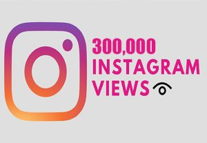 Get 300,000 Instagram Video Views +Reach in 1 Hours, Real & Active Users, Non Drop Guaranteed