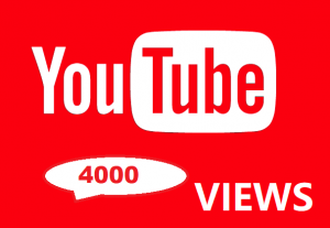 4000 YouTube Views Real And Organic