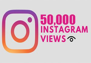 Get 50,000 Instagram Video views +Reach in 1 Hours, Real & Active Users, Non Drop Guaranteed
