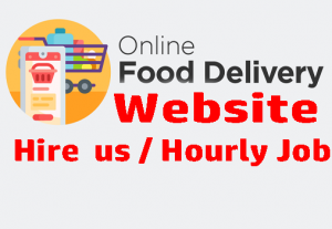 I can build online food delivery web application