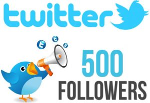 I will add 500 real Twitter followers with a 30-day guarantee