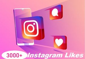 Give You 3000+ Instagram Likes Instant, Active User