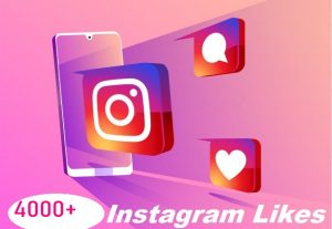 Give You 4000+ Instagram Likes Instant, Active User, Non-Drop
