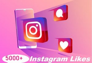 Give You 5000+ Instagram Likes Instant, Active User, Non-Drop