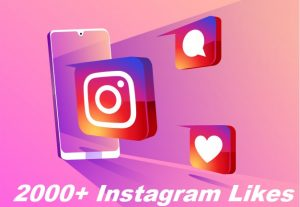 Give You 2000+ Instagram Likes Instant, Active User