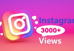 Give You 3000+ Instagram views Instant, Active User