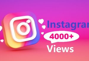 Give You 4000+ Instagram views Instant, Active User
