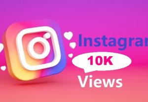 Give You 10K Instagram views Instant, Active User