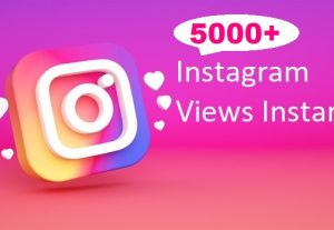 Give You 5000+ Instagram views Instant, Active User