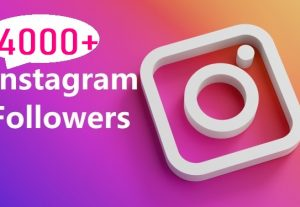 Get 4000 Instagram Follower , REAL WITH Lifetime GUARANTEED