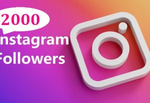 Get 2000 Instagram Follower , REAL WITH Lifetime GUARANTEED