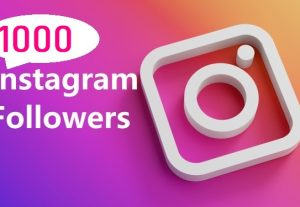 Get 1000 Instagram Follower , REAL WITH Lifetime GUARANTEED