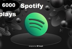 Get 6000+ Spotify Track Plays, High Quality, Active User