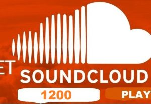 I'll promote 1200+ Plays on Soundcloud organically