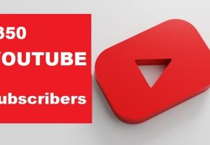 Get 350+ YouTube Subscribers  Non-Drop And  Guarantee And Real