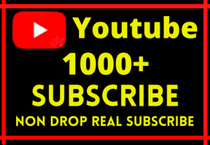 GET PERMANENT 1000+ YOUTUBE SUBSCRIBE NON DROP LIFE TIME GRENTED 100% ORGANIC