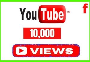 Get 10,000+ YouTube Views with 100 Likes, Non-drop and Lifetime Permanent Views
