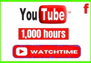 Get 1000+ YouTube Monetization Watchtime , Non-drop, and Lifetime Permanent
