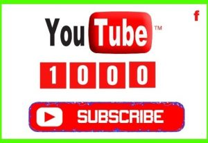 Get 1000+ YouTube Real and Organic Subscribers, Non-drop and Lifetime Permanent guaranteed