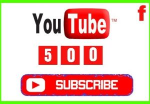 Get 500+ YouTube Real and Organic Subscribers, Non-drop and Lifetime Permanent guaranteed