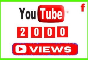 Get 2000+ YouTube Views with 100 Likes, Non-drop and Lifetime Permanent Views