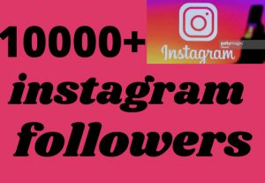 i will give 10000 instagram followers Real and organic