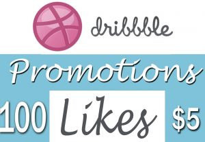 Buy 100 Dribbble Hearts to Your Shots