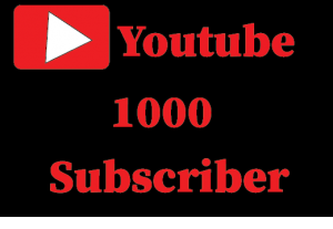 1000+ Youtube subscriber,Non Drop And Lifetime Permanent