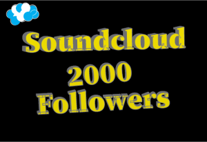 2000+ soundcloud Followers,Best quality and Non drop