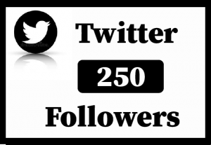 250+ Twitter Followers,Best Quality and lifetime permanent