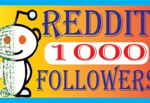 I will Provide 1000+ Reddit Followers 100% Real followers Non drop Live Time Guaranteed