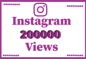 200000+ Instagram views, Non Drop ,best quality and lifetime permanent