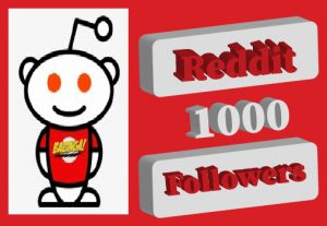 1000+ Reddit Followers,Best quality and Non Drop